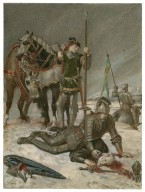 Henry V [IV, 6, the Duke of York mourns the death of Suffolk] [graphic] / [Alexandre Bida].