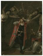 [King Richard III, V, 3, Richard III and the ghosts of those murdered by him] [graphic] / [Alexandre Bida].