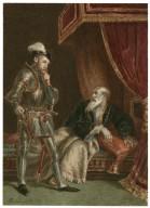 Richard II, [II, 1, King Richard visits the dying John of Gaunt] [graphic] / [Alexandre Bida].
