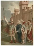 Coriolanus, [IV, 1, Coriolanus bids farewell to family and friends] [graphic] / [Alexandre Bida].