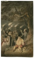 Merry wives of Windsor, V, 5, Falstaff and the fairies at the oak [graphic] / [Edward Bird].