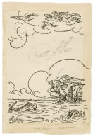 [End paper design for Bell's edition of The tempest] [graphic] / [Robert Anning Bell].