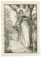 [Full-page illustration of Prospero and Ariel from act 1, scene 2 of the Tempest] [graphic] / [Robert Anning Bell].