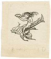[Ornamental illustration for page 55 of Bell's edition of The tempest] [graphic] / [Robert Anning Bell].