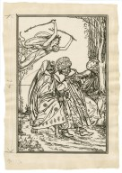[Design for full-page illustration to act 5, scene 1 of Bell's edition of The tempest] [graphic] / [Robert Anning Bell].