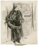 Hamlet, Sarah Bernhardt as [graphic].