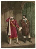 King John [IV, 2] King John and Hubert [graphic] / [J. Coghlan].