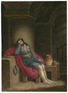 Richard II, Richard in prison at Pomfret Castle [graphic] / [J. Coghlan].