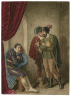 King Richard III [I, 4] Clarence and the two murderers [graphic] / [J. Coghlan].