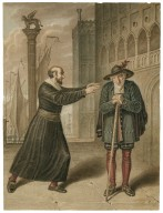 Merchant of Venice [III, 1] Shylock and Tubal [graphic] / [J. Coghlan].