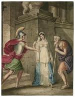 Troilus and Cressida [IV, 2] Pandarus, Cressida and Troilus [graphic] / [J. Coghlan].