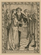 """Valentine: """"Welcome, dear Proteus! Mistress, I beseech you confirm his welcome with some special favour"""", II, 4 [graphic] / C."""