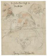 Sir John Falstaff & Bardolph [King Henry IV, pt. 1] [graphic] / George Cruikshank.