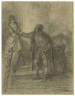 "Shylock & Jessica, ""The merchant of Venice"", act 2, scene 5 [graphic] / [Felix Darley]."