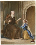 Romeo and Juliet: act IV, scene 1: Friar Lawrence's cell [graphic] / [W.T. Dennis].