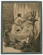 Othello, V, 2 : Othello killing Desdemona [graphic].