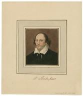 Portrait of Shakespeare [graphic] / original artist, George Perfect Harding.
