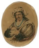 [Edmund Kean in costume as Richard III] [graphic].