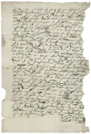 Letter from William Adderley to Anthony Bagot