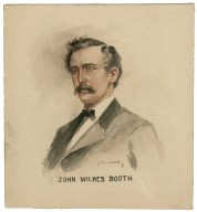 John Wilkes Booth [bust portrait] [graphic].