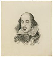 [Portrait of Shakespeare] [graphic] / W.F. Kurze.