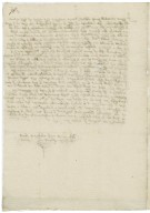 Letter from Anthony Bagot, Oxford, to Mary Bagot (his mother)