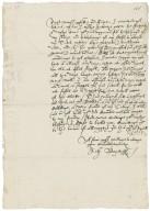 Letter from Anthony Bagot, Cambridge, to Richard Bagot