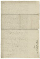 Letter from Anthony Bagot, Warwick Inn, to Richard Bagot