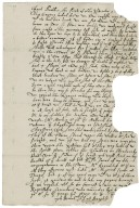 Letter from Anthony Bagot, France, to Richard Broughton