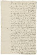 Letter from Anthony Bagot, London, to Richard Bagot