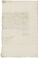 Letter from Sir Harvey Bagot, Oxford, to Walter Bagot