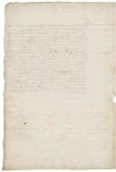 Letter from Lewis Bagot, London, to Walter Bagot
