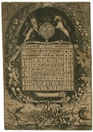 A perpetuall almanack ... [for the years 1660-1687] [graphic] / RP.
