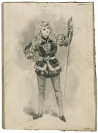 King John, Miss Elsie Leslie as Prince Arthur [graphic] / [Bernard Partridge].