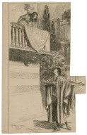 Mrs. Patrick Cambell as Juliet, Mr. Forbes-Robertson as Romeo [Shakespeare's Romeo and Juliet] [graphic] / [Frederick Pegram].