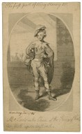 King Henry IV, pt. 1, Mr. Lewis in the character of the Prince of Wales [graphic] / [Johann Heinrich Ramberg].