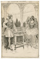 Olivia - I will draw the curtain and show you the picture [graphic] / [Louis Rhead].