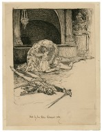 Died by her true Romeo's side [graphic] / [Louis Rhead].