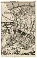 Pericles, Prince of Tyre. As they cast the Queen overboard [graphic] / [Louis Rhead].