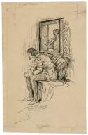 Twelfth night, Orsino [graphic] / [Louis Rhead].
