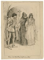 Romeo shall thank thee, daughter, for us both [graphic] / [Louis Rhead].