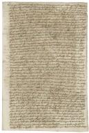 Letter from Walter Bagot to Edward Moreton, mayor of Stafford