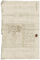 Letter from Edward Beresford, Beresford, to Walter Bagot