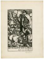 Cymbeline, a set of seven original drawings [graphic] / [Byam Shaw].