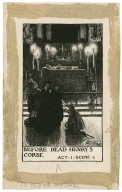 King Henry VI, part 1, a set of seven original drawings [graphic] / [Byam Shaw].