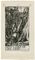 King Henry VI, part 3, a set of seven original drawings [graphic] / [Byam Shaw].