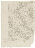 Letter from Richard Broughton (Richard Bagot's son-in-law), Inner Temple, to Richard Bagot