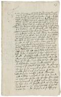 Letter from Richard Broughton (Richard Bagot's son-in-law) to Richard Bagot