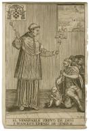 El venerable sieruo de Dios F. Francisco Ximenez de Cisneros [graphic] / Fran. Nig. s.