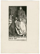 King Richard II, a set of six original drawings [graphic] / [Byam Shaw].